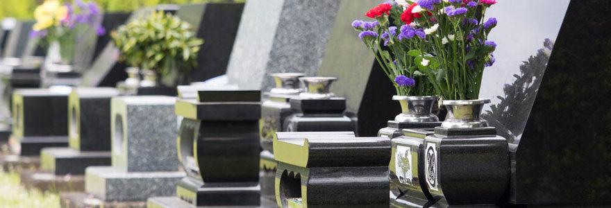 Formation funéraire en ligne